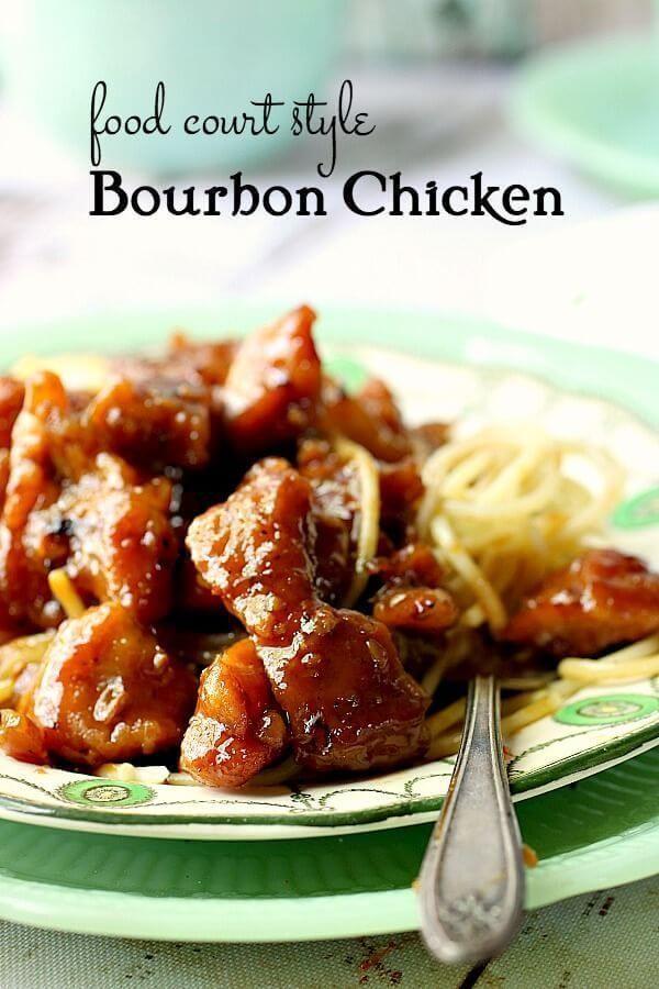 Bourbon Chicken Recipe All The Best Blogger Chicken And Turkey