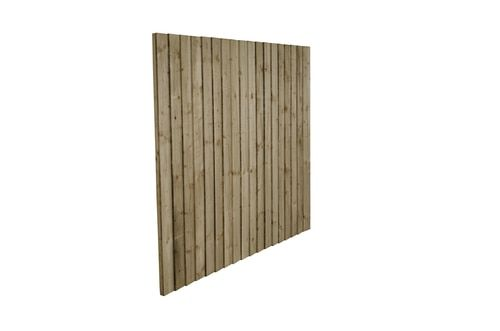 Feather Edge Fence Panel 1.83m(W) x 1.8m(H) Pressure Treated