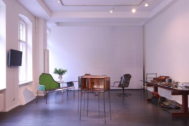 """Assemblage"" solo exhibition DAD Galerie Berlin"