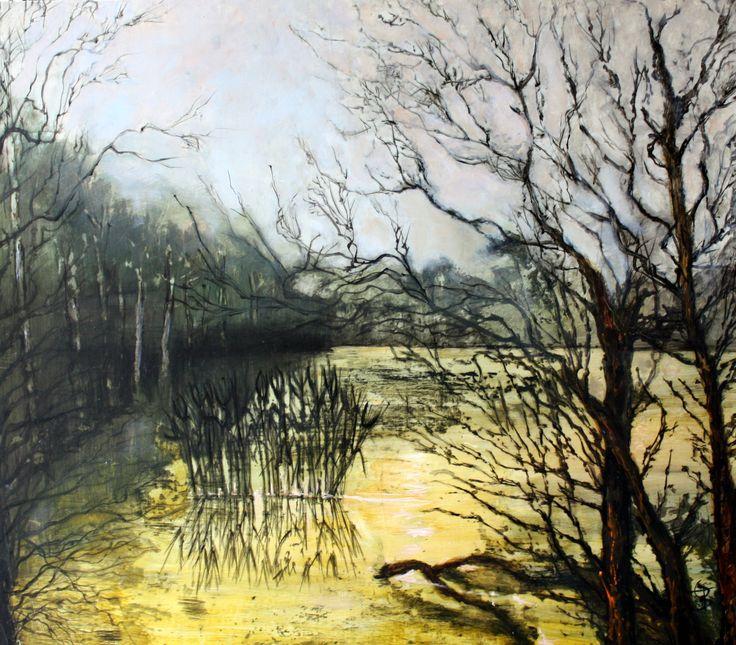 Marais, huile 68 x 77