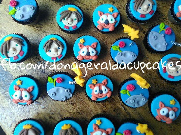 Cupcakes O Pequeno Príncipe #lepetitprincecupcake #lepetitprinceparty