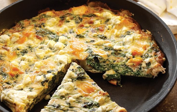 Hot-smoked salmon and watercress frittata. Follow link for full recipe from appetite, North East England's dedicated food & drink publication.