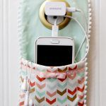 Sew Your Own Cellphone Charger Holder