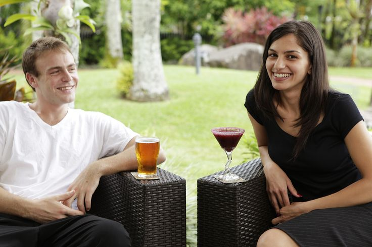 Relax with a drink at Rydges Tradewinds Cairns.