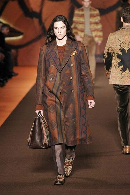 Look do dia  Etro  Inverno 2013
