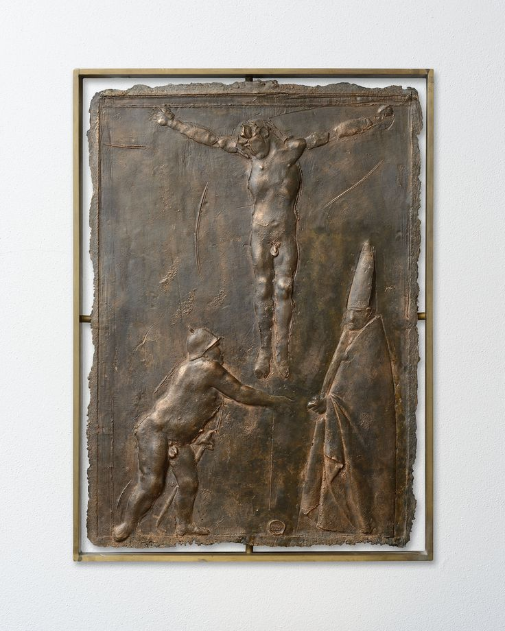 Crucifixion with General and Cardinal, 1951