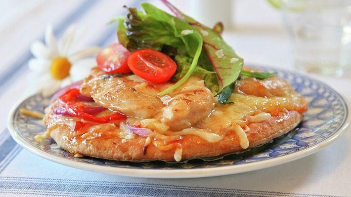 Rask kyllingpizza - Rask - Oppskrifter - MatPrat