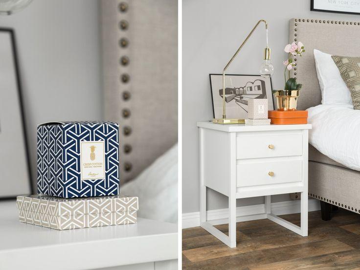 BY ANDREA Nattduksbord Vit - Sängbord designat av Andrea Brodin