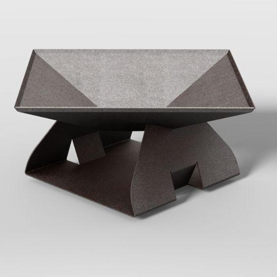 Roo outdoor Products Firepit - 5mm Corten Weathering steel