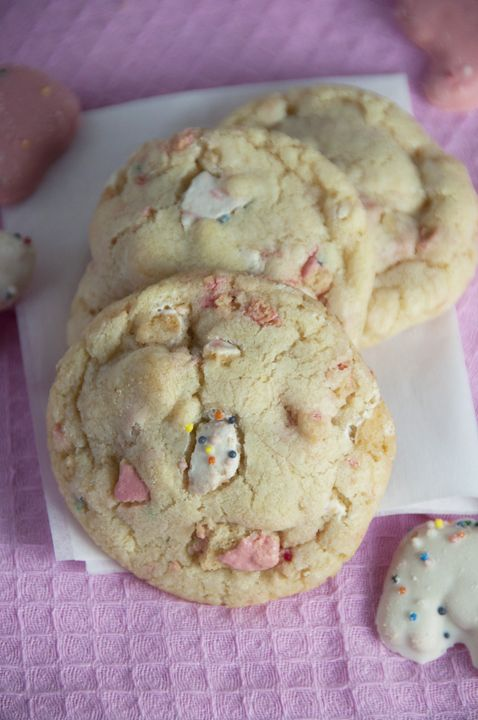 Circus Animal Cookie Sugar Cookies