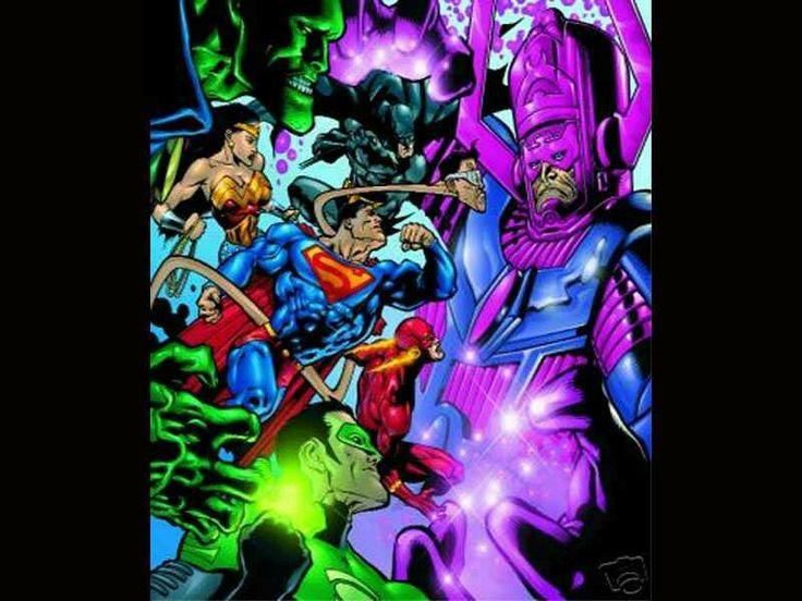 Justice League vs Galactus no contest. (With images ...