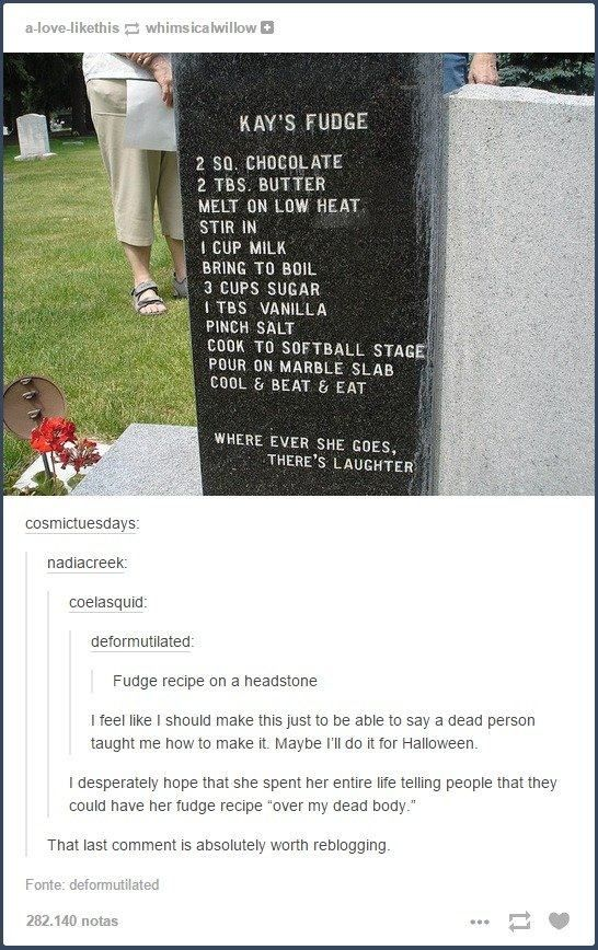 Over her dead body- 18 Tumblr Comments That Made the Photo Even Better | Pleated-Jeans.com