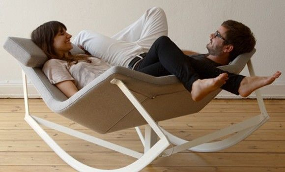 Schommelstoel voor 2 personen