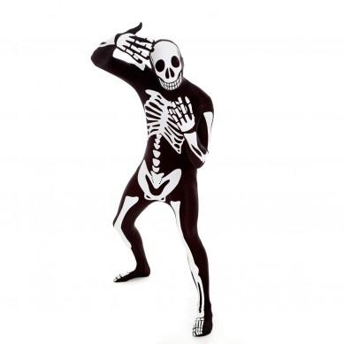 Skeletonblack Morphsuit