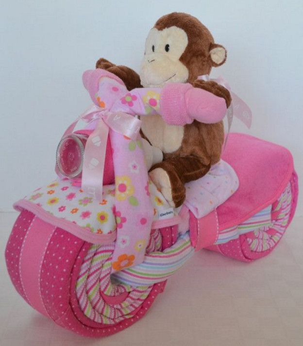 monkey themed baby shower for girl