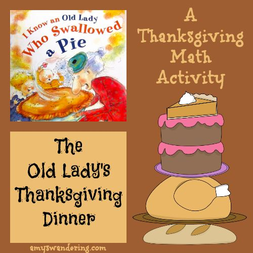 The Old Lady's Thanksgiving Dinner – A Thanksgiving Math Activity