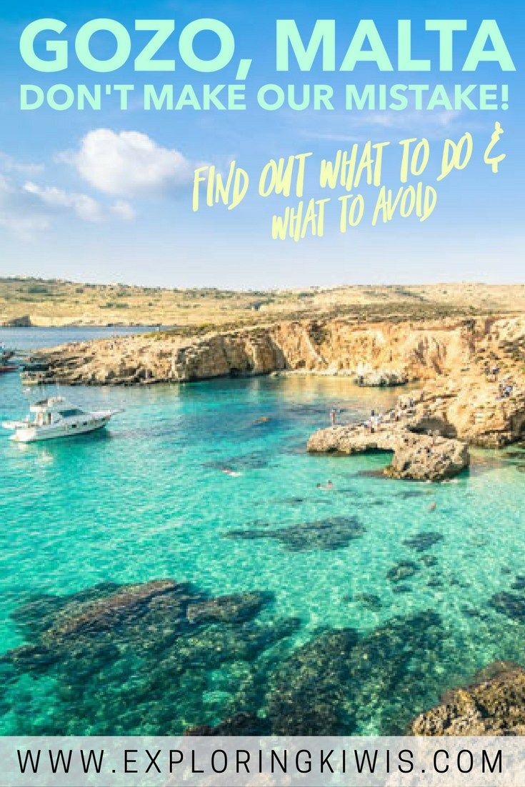 Gozo, Malta is a stunning part of the world but plan your itinerary carefully and be even more careful when choosing your tour company - or better still, organise your own trip. You'll see a string of highlights whilst having the time to soak in the gorge