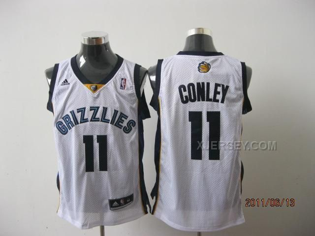 http://www.xjersey.com/grizzlies-11-conley-white-jerseys.html GRIZZLIES 11 CONLEY WHITE JERSEYS Only $34.00 , Free Shipping!