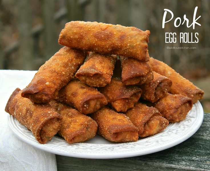 pork egg rolls main