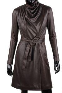 Płaszcz skórzany damski DORJAN EST123