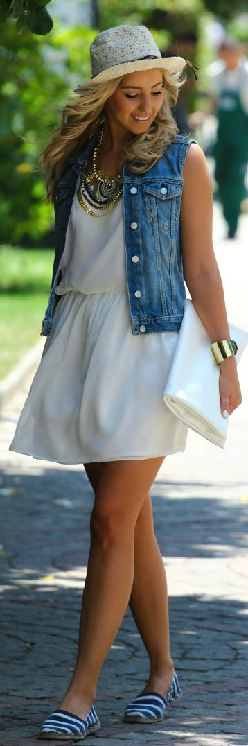 Mini Dress Me- Gap Navy And White Stripe Nautical Espadrilles by Styleandblog.com- Via ~LadyLuxury~