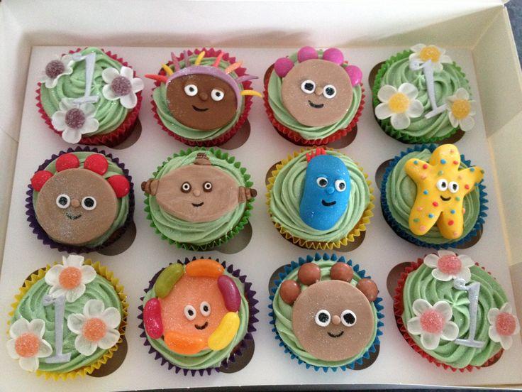 'In the Night Garden' cupcakes