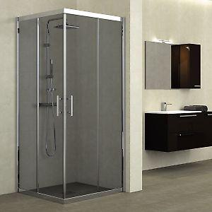 Box doccia scorrevole Elyt 7780 x 97100, H 190 cm