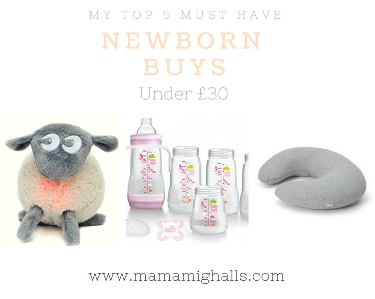 My Top 5 Must Have Newborn Buys Under £30 - Mama Mighalls