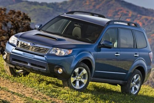 2013 Subaru Forester 2.5X Limited PZEV 4dr SUV Exterior