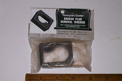 VINTAGE THOMPSON CENTER BREECH PLUG WRENCH FOR 15/16 INCH BARRELS
