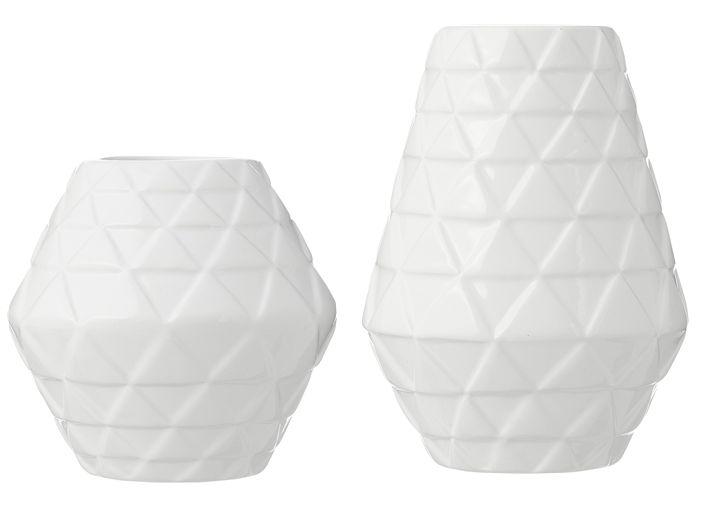 HEMA wonen - Vazen van aardewerk met reliëf