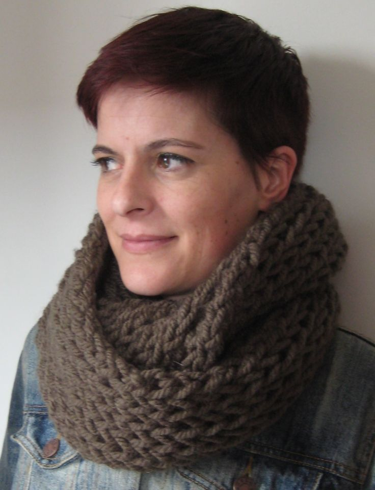 one skein, one afternoon, chunky cowl by Amanda Berry Scarves Pinterest ...