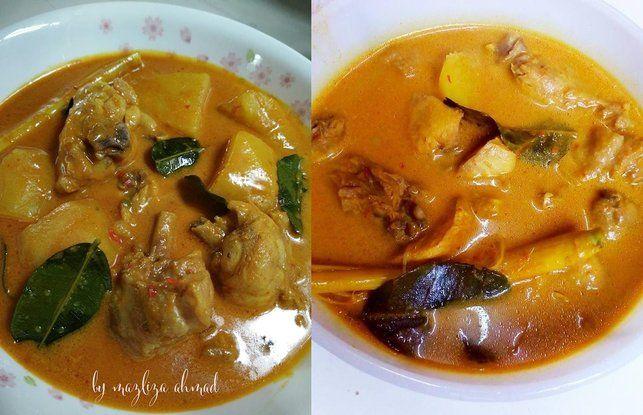 Resepi Kari Ayam Tanpa Santan Siap Dalam 30 Minit Iluminasi Resep Masakan Asia Kari Kari Ayam