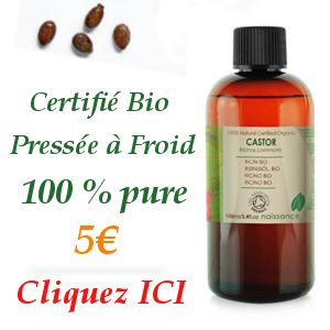 L'huile de ricin a des propriétés fantastiques lorsqu'on sait s'en servir…