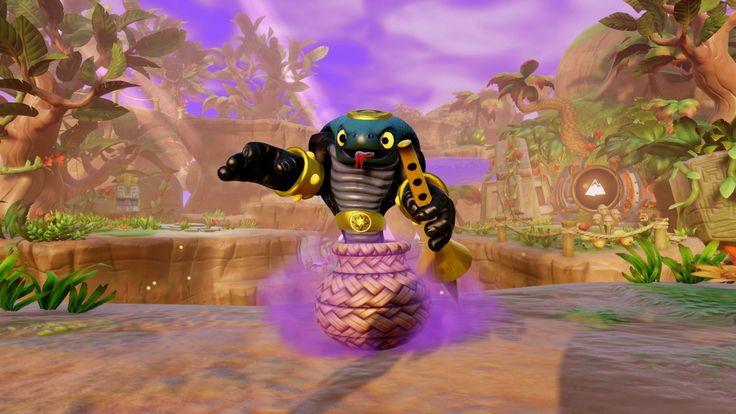 Figurine Skylanders : Trap Team - Cobra Cadabra: Amazon.fr: Jeux vidéo