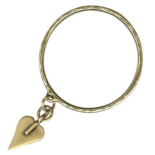 Danon Bronze Large Heart Bangle|lizzielane.co.uk £22 http://www.lizzielane.co.uk/shop/danon-bronze-large-heart-bangle