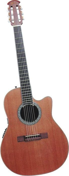 Ovation CC059 Acoustic-Electric Classical Guitar Natural (via Musician's Friend)