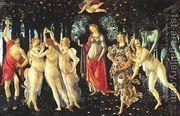 Allegory Of Spring La Primavera  by Sandro Botticelli (Alessandro Filipepi)