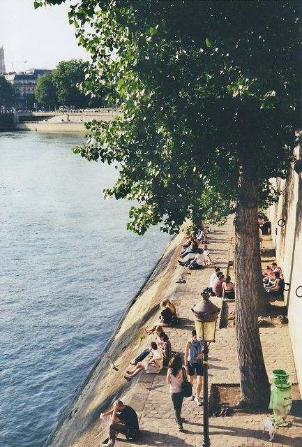 Paris: walking the Seine. There are many activities on the weekends like kids carnivals and food fairs and little exhibits.