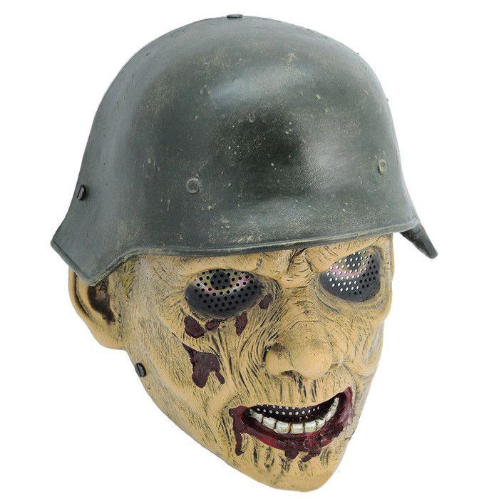 GRP Mask CS Protective Mask World War II Zombie Mask Glass Fiber Reinforced Plastics Mask