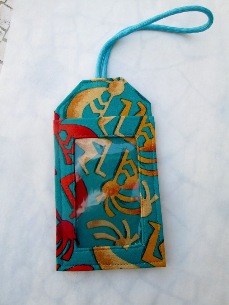 A personal favorite from my Etsy shop https://www.etsy.com/listing/504123702/kokopelli-luggage-tag-southwestern