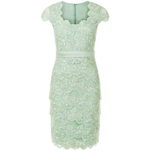 Jacques Vert Petite Sweetheart Lace Layered Dress, Light Green (£49) ❤ liked on Polyvore featuring dresses, short dresses, vestidos, petite, green maxi dress, long-sleeve mini dress, formal dresses, sleeve maxi dress and petite maxi dresses