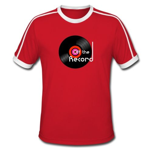 Off the Record - Men's Retro T-Shirt. @spreadshirt  #dj #music #vinyl #retro #red #tshirts #cooltees #streetwear #clubgear #records #spreadshirt