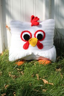 Little Pillow Pals - 8 of 12 - Chicken by Julie Lapalme