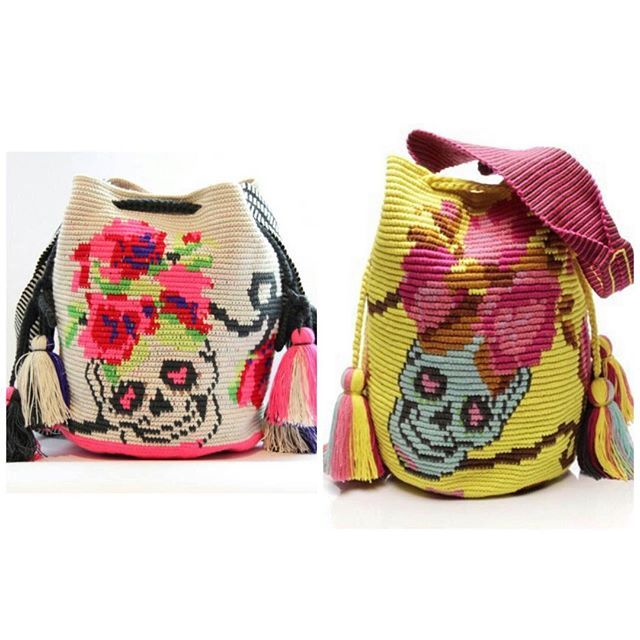 Wayuu Mochila bag skeleton