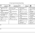 This kid friendly rubric clearly outlines what should be included in an informational report. The included checklists helps students check that the...