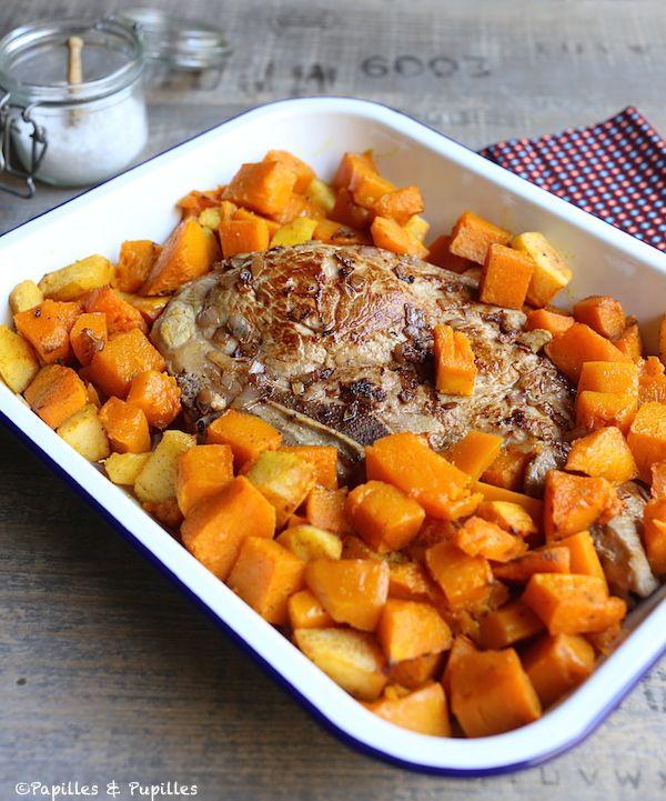 Recette Quasi de veau au butternut, aux coings eet aux épices douces