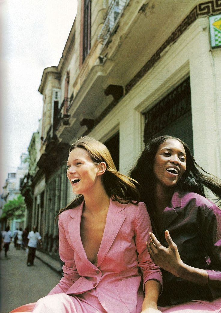 In Photos: Naomi & Kate's Supermodel Friendship