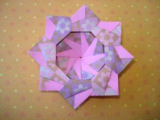 Carla Onishi Modular origami star tutorial