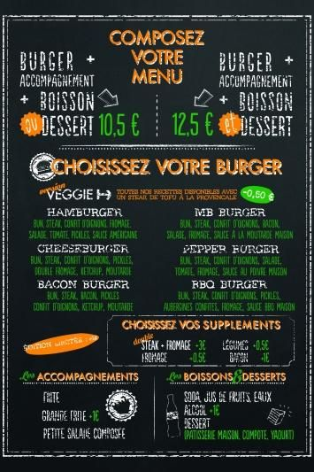 Best French Menus Images On   Cards Food And French